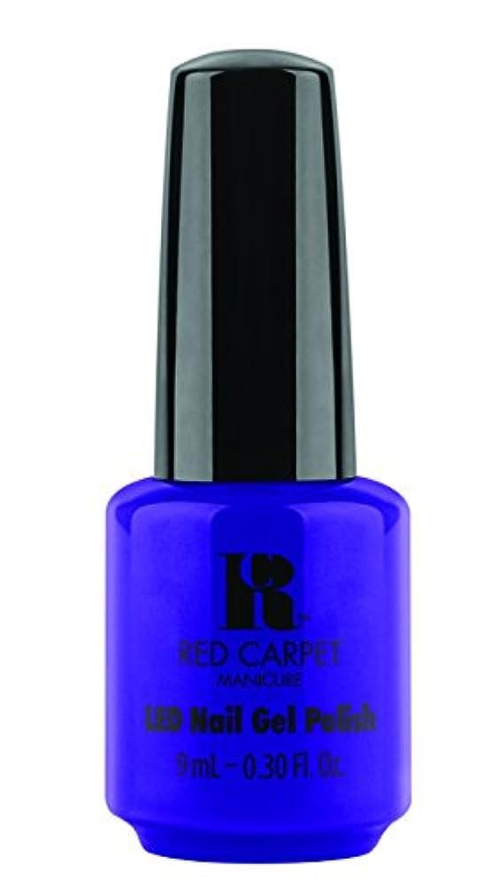 しないでくださいエーカーごちそうRed Carpet Manicure - LED Nail Gel Polish - Re-Luxe A Little - 0.3oz/9ml