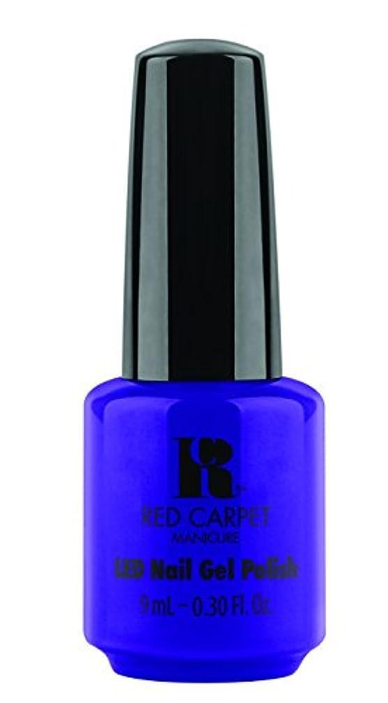 感嘆符人工的なモスクRed Carpet Manicure - LED Nail Gel Polish - Re-Luxe A Little - 0.3oz/9ml