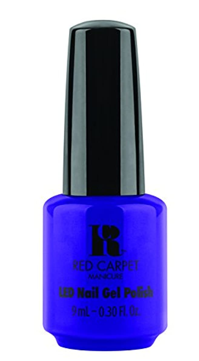 焼くそれから定数Red Carpet Manicure - LED Nail Gel Polish - Re-Luxe A Little - 0.3oz/9ml