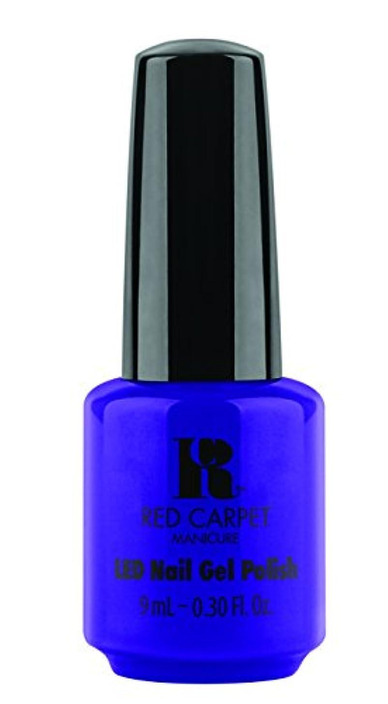 郵便局責ドラムRed Carpet Manicure - LED Nail Gel Polish - Re-Luxe A Little - 0.3oz/9ml