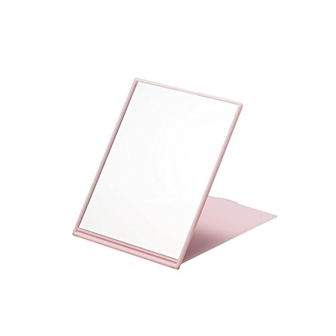 ナピュアミラー スリム&ライトコンパクトナピュアミラーL ピンク AM-007P