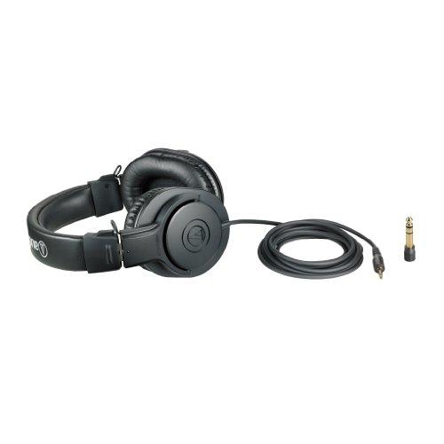 『audio-technica オーディオテクニカ プロフェッショナルモニターヘッドホン ATH-M20x スタジオレコーディング / 楽器練習 / ミキシング / DJ / ゲーム』の4枚目の画像