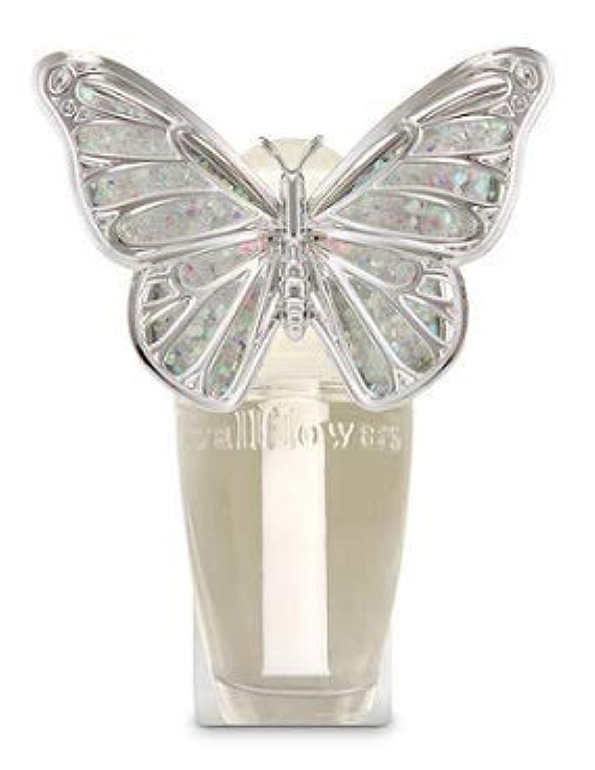 学ぶほとんどないお客様【Bath&Body Works/バス&ボディワークス】 ルームフレグランス プラグインスターター (本体のみ) スプリングバタフライ ナイトライト Wallflowers Fragrance Plug Spring butterfly...
