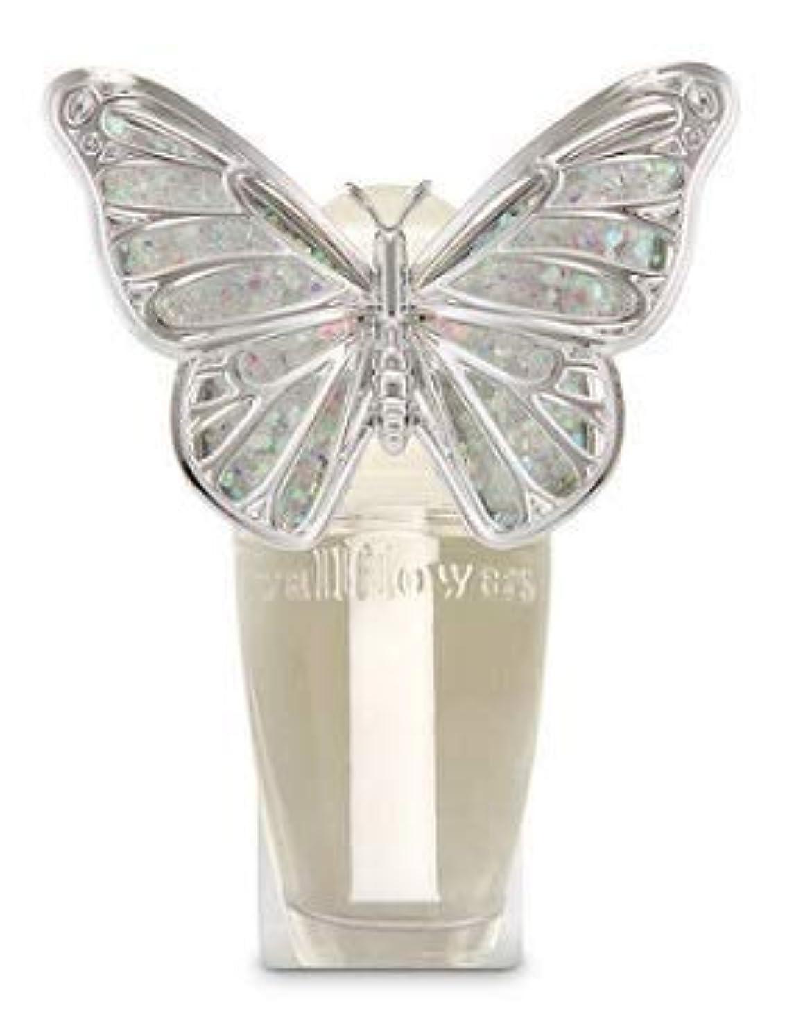 実験室保証金機会【Bath&Body Works/バス&ボディワークス】 ルームフレグランス プラグインスターター (本体のみ) スプリングバタフライ ナイトライト Wallflowers Fragrance Plug Spring butterfly...
