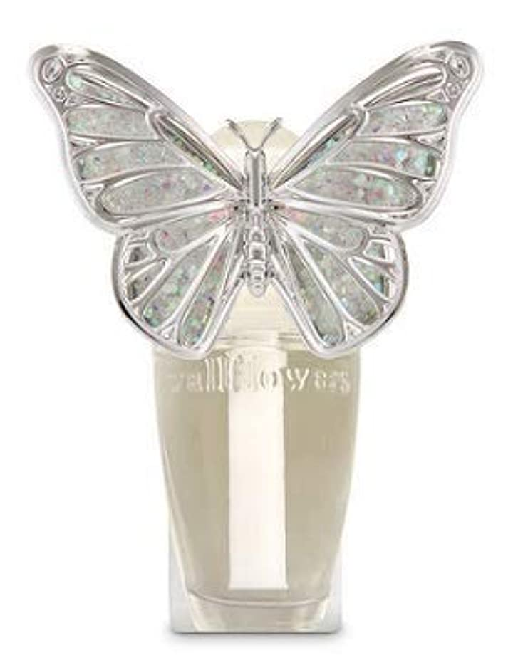 抗生物質思想タンク【Bath&Body Works/バス&ボディワークス】 ルームフレグランス プラグインスターター (本体のみ) スプリングバタフライ ナイトライト Wallflowers Fragrance Plug Spring butterfly...