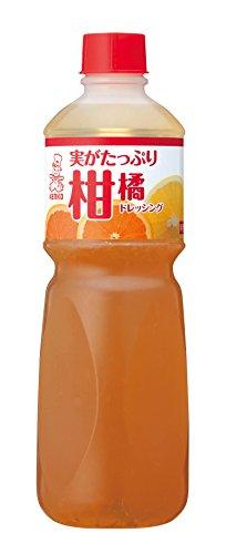 ケンコーマヨネーズ 実がたっぷり柑橘ドレッシング 1L