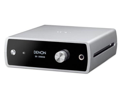 DENON USB-DAC/ヘッドホンアンプ ハイレゾ音源対応 シルバー DA-300USBS