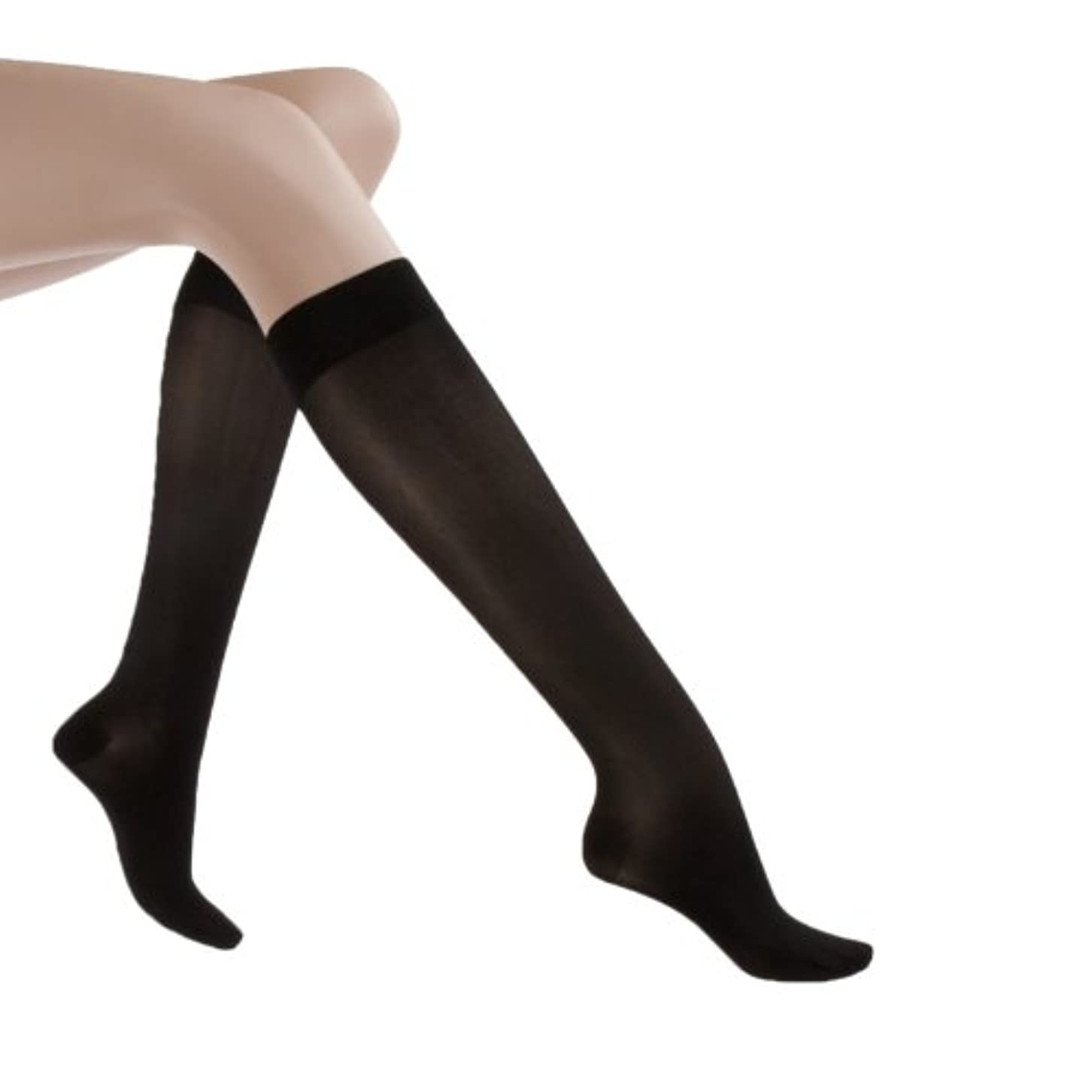 観光に行く分注するまぶしさJobst Women's UltraSheer Moderate Support Knee Highs
