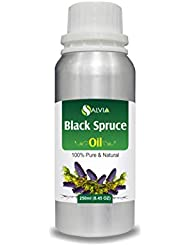 Black Spruce Essential Oil (Picea mariana) 100% Pure & Natural - Undiluted Uncut Therapeutic Grade Aromatherapy...