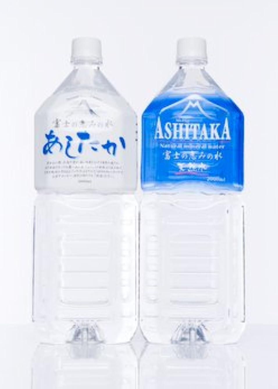 核列車悩むASHITAKA 天然水 2L×6本
