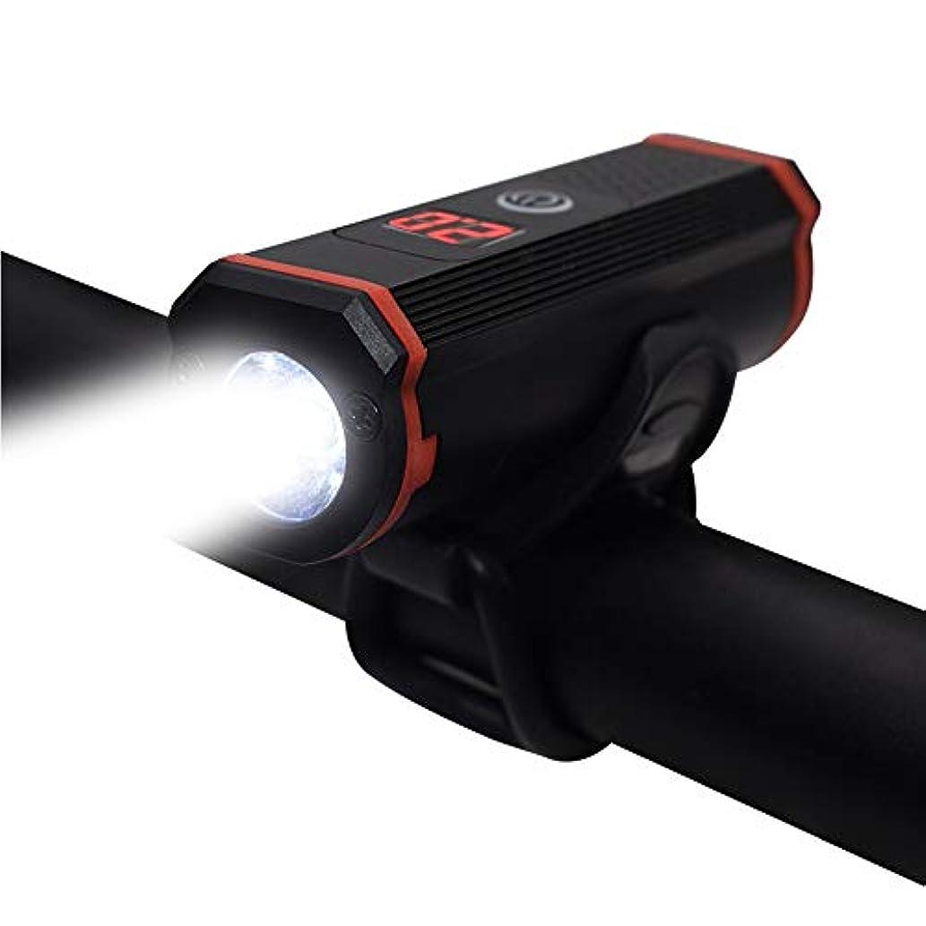交差点退屈重々しいSOOJET BFR-03 CREE XPG 300ルーメンLED自転車ライト 自転車フロントライト 自転車のテールライト USB充電式-高輝度4モード対応 懐中電灯兼用-防水防振