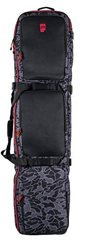 Rome Snowboards Cache Bag Black One Size [並行輸入品]