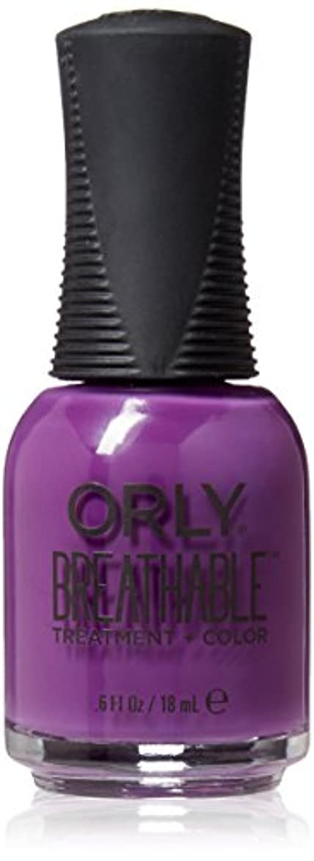 悔い改め問題モニカOrly Breathable Treatment + Color Nail Lacquer - Pick-Me-Up - 0.6oz / 18ml