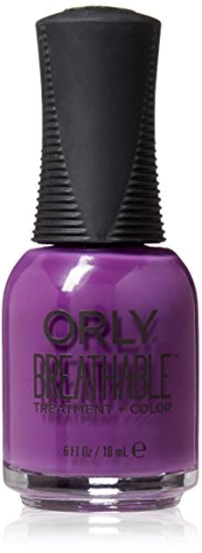 仲介者スタッフ旅Orly Breathable Treatment + Color Nail Lacquer - Pick-Me-Up - 0.6oz / 18ml