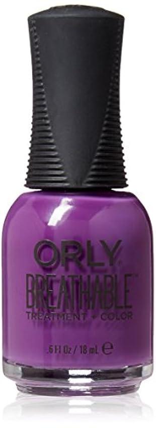 オークフィットネス証人Orly Breathable Treatment + Color Nail Lacquer - Pick-Me-Up - 0.6oz / 18ml
