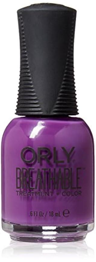 砂利強調国勢調査Orly Breathable Treatment + Color Nail Lacquer - Pick-Me-Up - 0.6oz / 18ml
