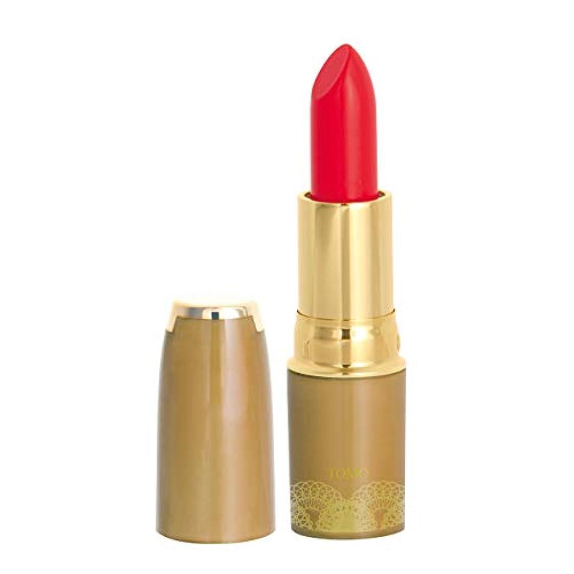 切る長々と落胆する安心 安全 低刺激 食用色素からできた口紅 ナチュレリップ LC-01 (ブライトレッド) 全6色
