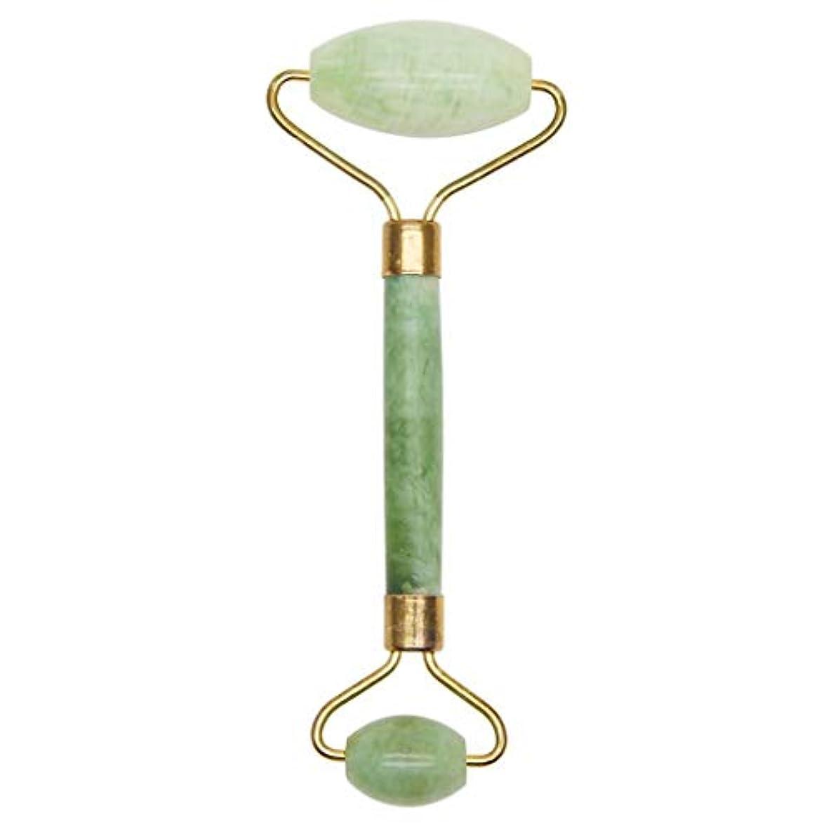 顎傘装備する自然なXiuyushiの美棒のマッサージのヒスイのローラー押す表面および目薄い表面の美のヒスイの球のマッサージャー