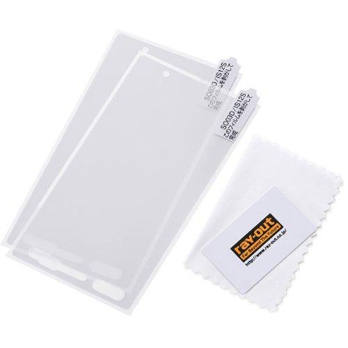 レイ・アウト Xperia acro HD SO-03D/au IS12S ケース シルキータッチシリコンジャケット/ホワイトRT-SO03DC1/W