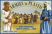 North Africa 1900 Arab Warriors (20) 1/32 Armies in Plastic [並行輸入品]
