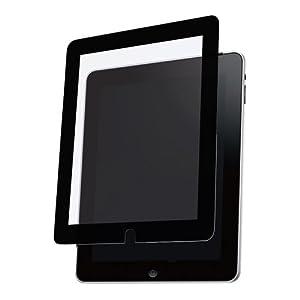 バッファローコクヨサプライ iBUFFALO iPad用 液晶保護フィルム 気泡が入らないイージーフィット BSIPD01FE