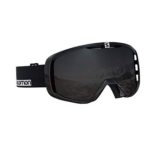 サロモン(SALOMON) スキー スノーボード ゴーグル ユニセックス AKSIUM Black-White/Black L40515800