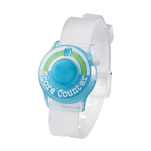 Tabata(タバタ) スコアカウンター ゴルフ 腕時計 ゴルフラウンド用品 ウォッチスコアカウンターIII スケルトンブルー GV0903 SBL