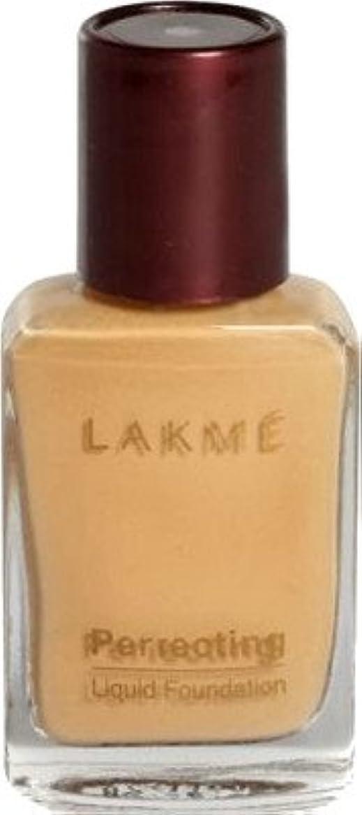 ウィンクオーバーヘッド低いLakme Perfect Liquid Foundation (大理石)