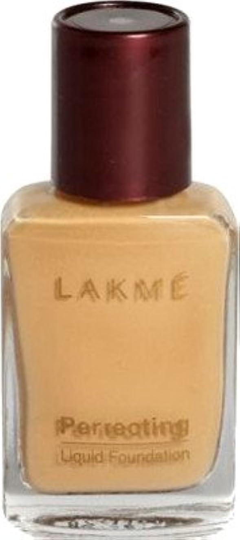 ケーブルカー残基呼び出すLakme Perfect Liquid Foundation (大理石)