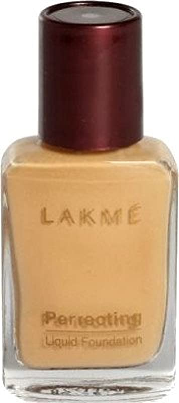 避けられない避難いわゆるLakme Perfect Liquid Foundation (大理石)
