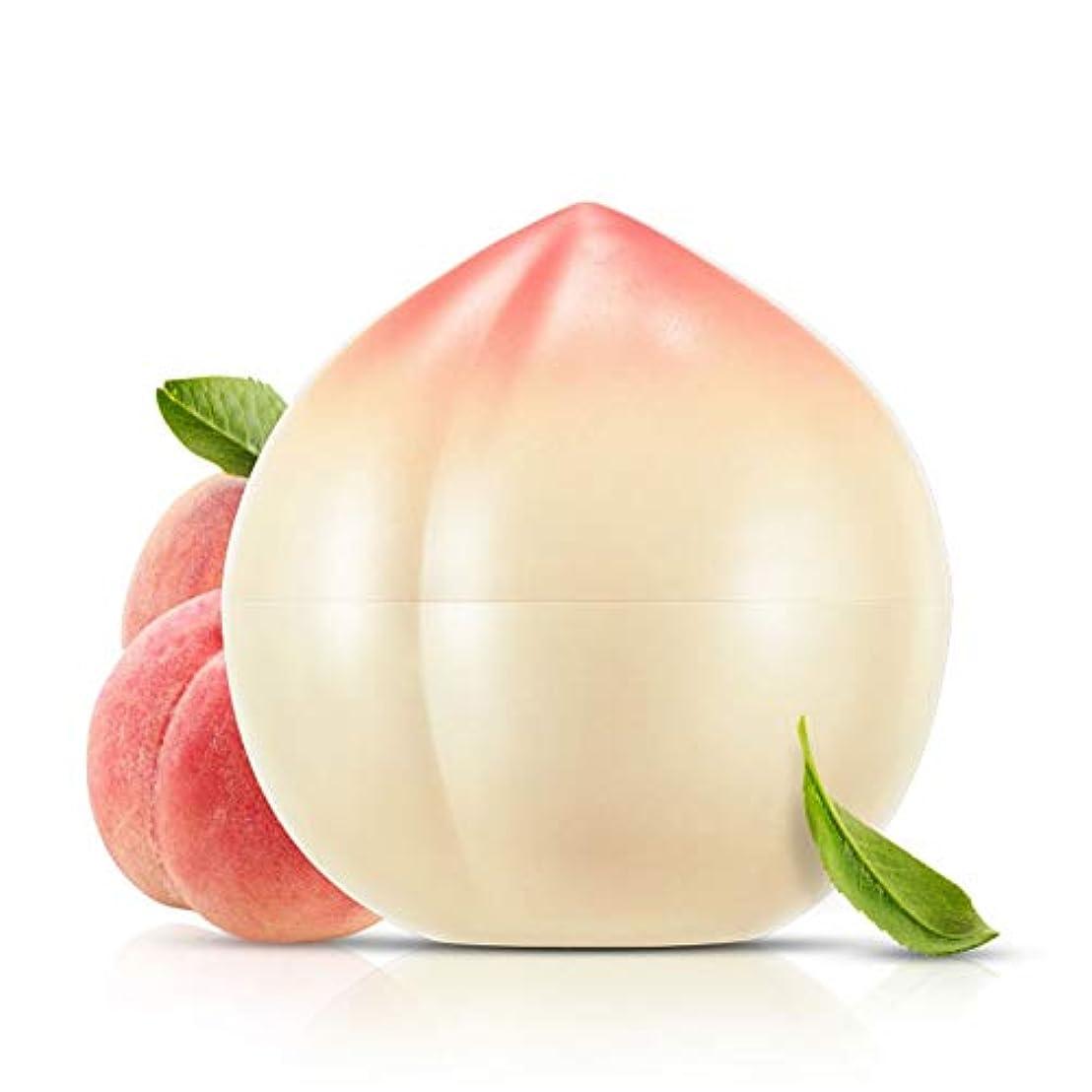 割り当て残忍なためらうAlluole Peach Hand Cream Moisturizer for Dry Cracked Hands Anti-aging Skin Care 40ml
