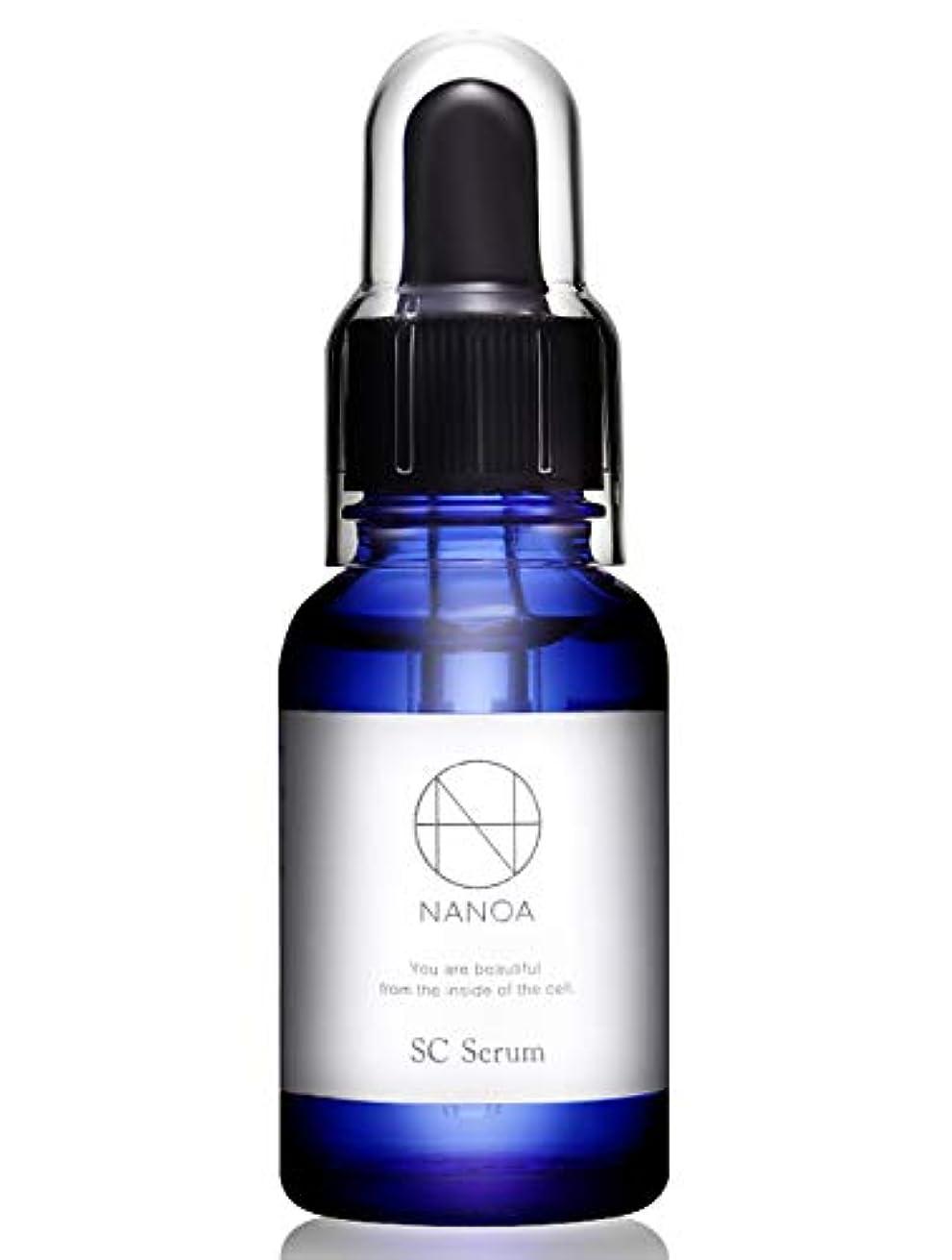 開始ペルソナ香ばしい(ナノア)NANOA 皮膚科医が大注目のヒト幹細胞美容液 EGF ほうれい線 エイジングケア セラミド 無添加 日本製