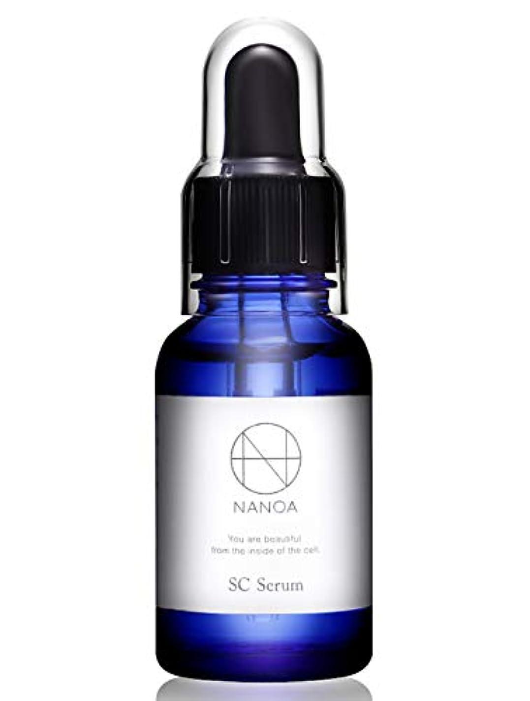 優先権リラックス溶融(ナノア)NANOA 皮膚科医が認めたヒト幹細胞美容液 EGF ほうれい線 エイジングケア セラミド 無添加 日本製