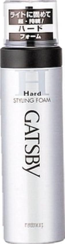 ヘルパーミルク懐疑論GATSBY (ギャツビー) スタイリングフォーム ハード 185g