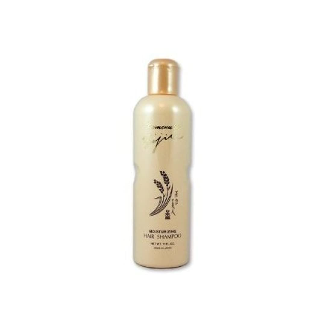理由植物の導出Komenuka Bijin Moisturizing Hair Shampoo With Natural Rice Bran - 11 Fl Oz by KOMENUKA BIJIN / NS-K