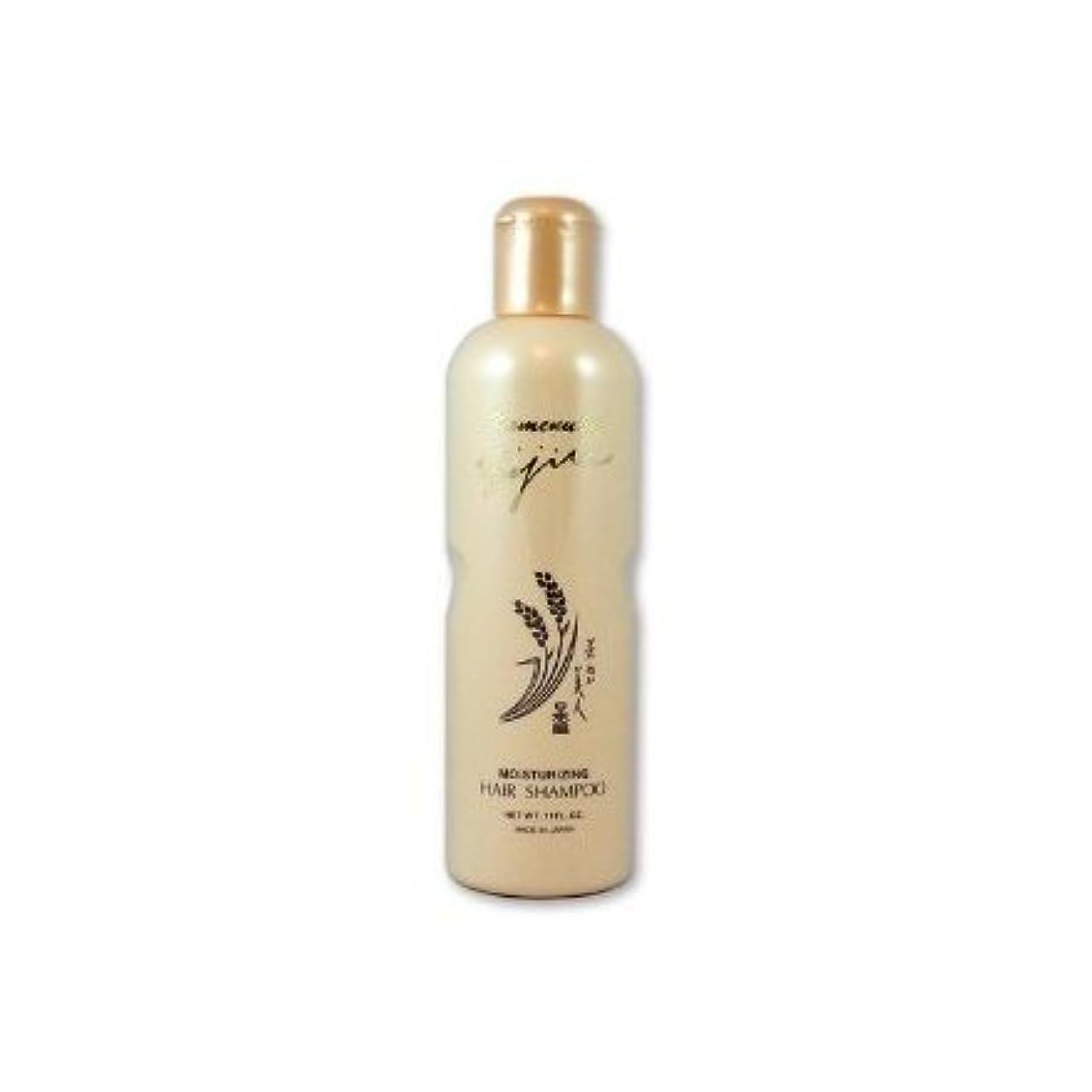 正義スマッシュ恐れKomenuka Bijin Moisturizing Hair Shampoo With Natural Rice Bran - 11 Fl Oz by KOMENUKA BIJIN / NS-K