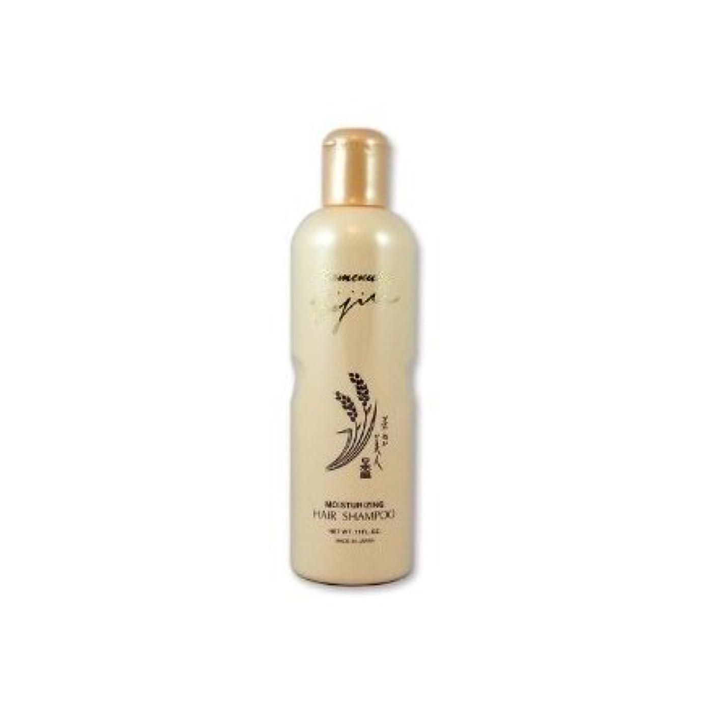 ビリーヤギ晴れ多分Komenuka Bijin Moisturizing Hair Shampoo With Natural Rice Bran - 11 Fl Oz by KOMENUKA BIJIN / NS-K
