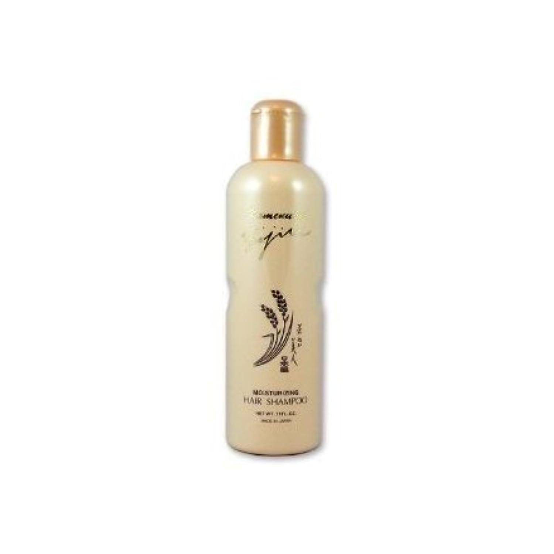 略語明るい維持Komenuka Bijin Moisturizing Hair Shampoo With Natural Rice Bran - 11 Fl Oz by KOMENUKA BIJIN / NS-K
