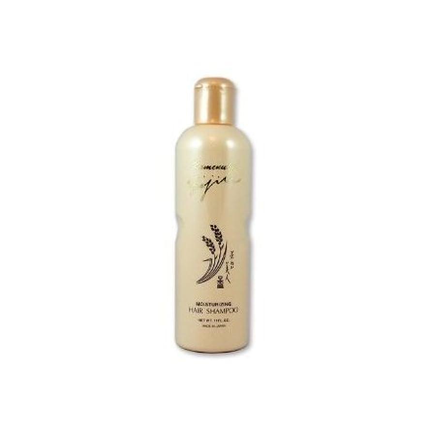 タップシーケンスズボンKomenuka Bijin Moisturizing Hair Shampoo With Natural Rice Bran - 11 Fl Oz by KOMENUKA BIJIN / NS-K