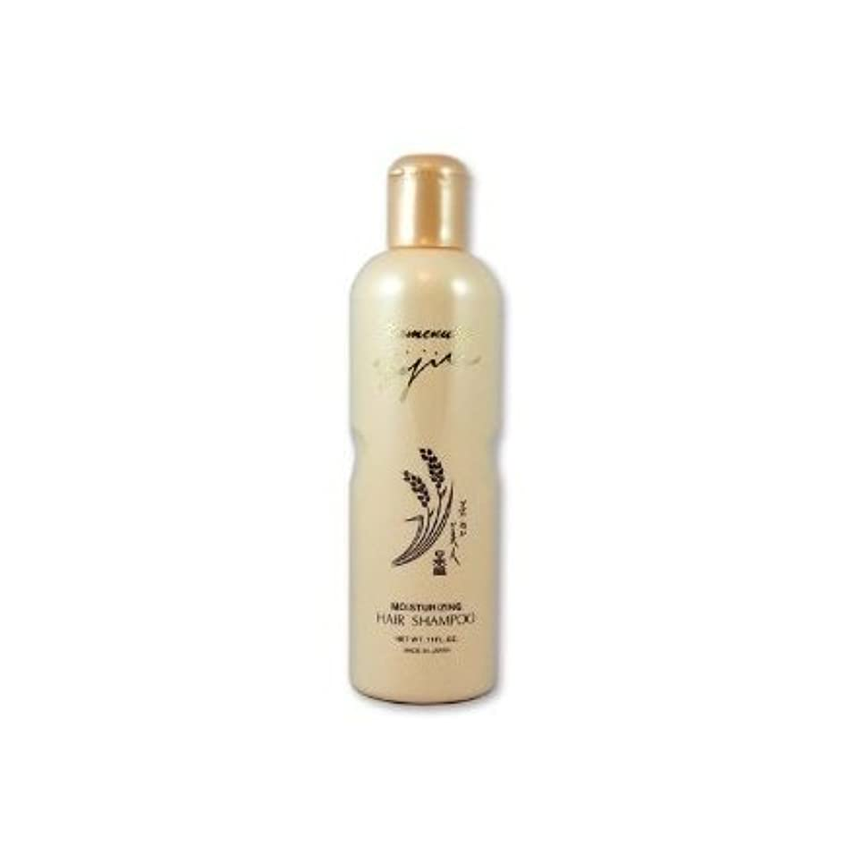 スキム降伏床を掃除するKomenuka Bijin Moisturizing Hair Shampoo With Natural Rice Bran - 11 Fl Oz by KOMENUKA BIJIN / NS-K