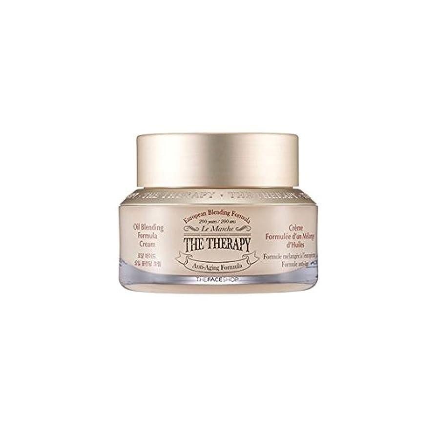 遺伝子分子やさしい[ザ?フェイスショップ] The Faceshop ザ?セラピーロイヤルメイドオイルブランディングクリーム 50ml The Face Shop The Therapy Oil Blending Formula Cream...