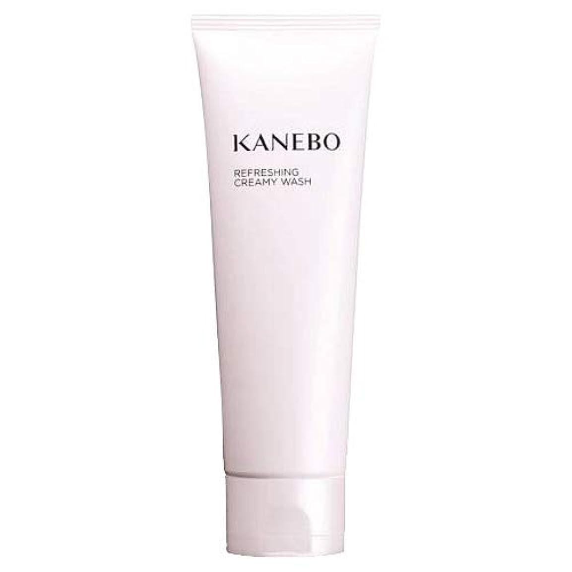 伝染病枯渇長くするカネボウ KANEBO 洗顔フォーム リフレッシングクリーミィウォッシュ 120ml :宅急便対応 送料無料 再入荷10 [並行輸入品]