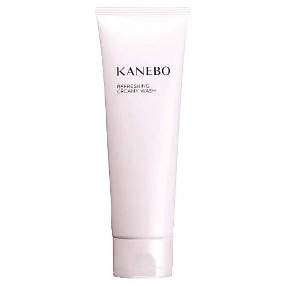 と組む利益哺乳類カネボウ KANEBO 洗顔フォーム リフレッシングクリーミィウォッシュ 120ml :宅急便対応 送料無料 再入荷10 [並行輸入品]