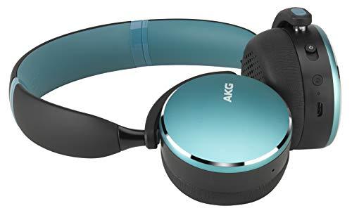 AKG Y500 WIRELESS Bluetoothヘッドホン マルチポイント/AAC対応 グリーン 【国内正規品/メーカー1年保証付き】