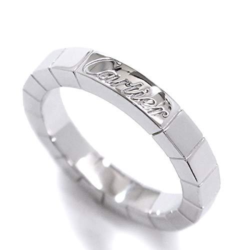 カルティエ Cartier ラニエール #46 リング K18WG 18金ホワイトゴールド 指輪 【証明書付き】【中古】 90070995