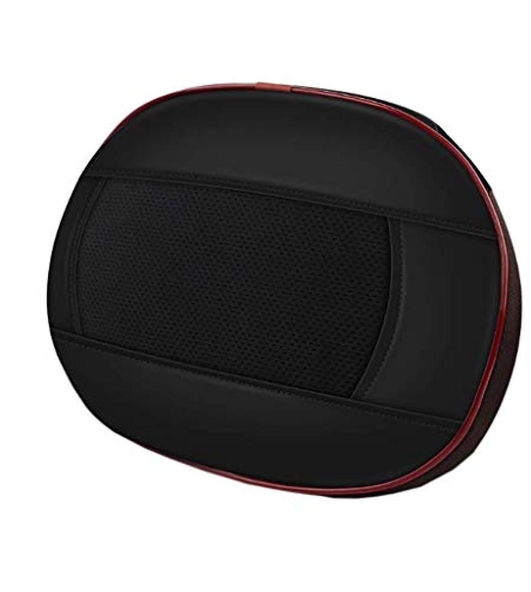 維持するメッシュカラスネックマッサージャー、フィンガープレスネックマッサージピロー、多機能マッサージモード、スマートボタン、20強度、15分のタイミング、ホームオフィス用