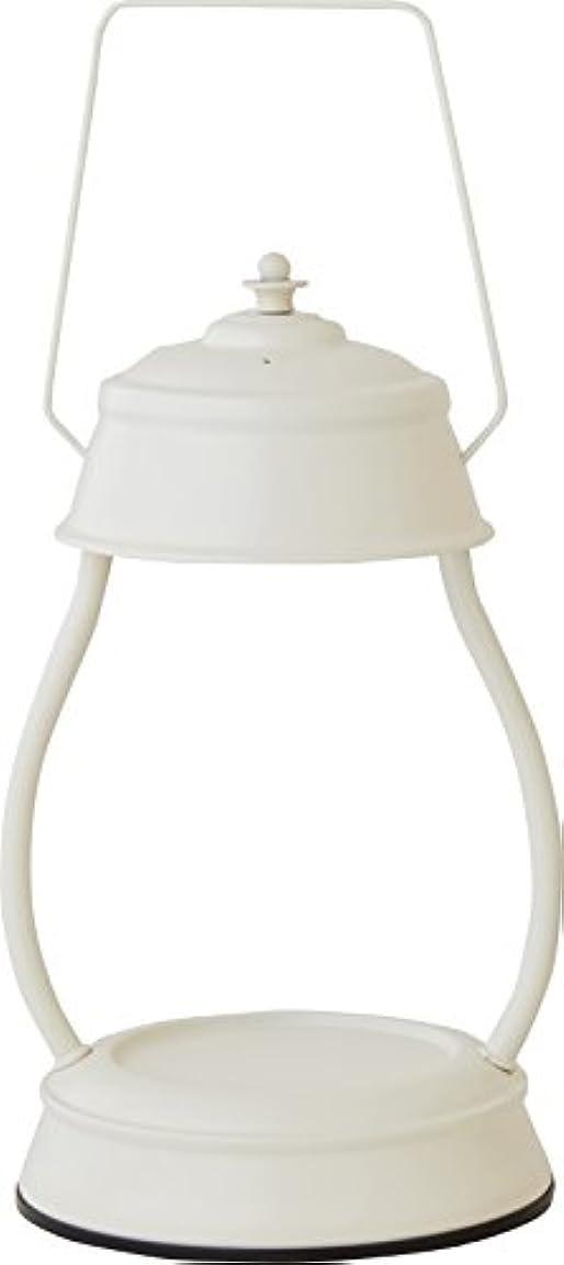 地殻東ティモール急襲カメヤマキャンドルハウス 電球の熱でキャンドルを溶かして香りを楽しむ電気スタンド キャンドルウォーマーランプ (ホワイト)