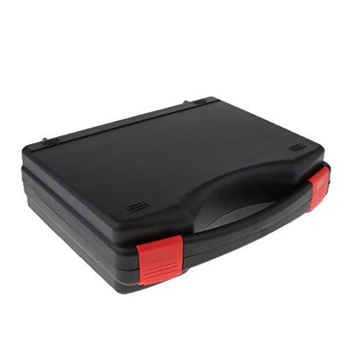 T TOOYFUL 黒い ブリーフケース 収納ボックス モデルカー 車模型収納ケース