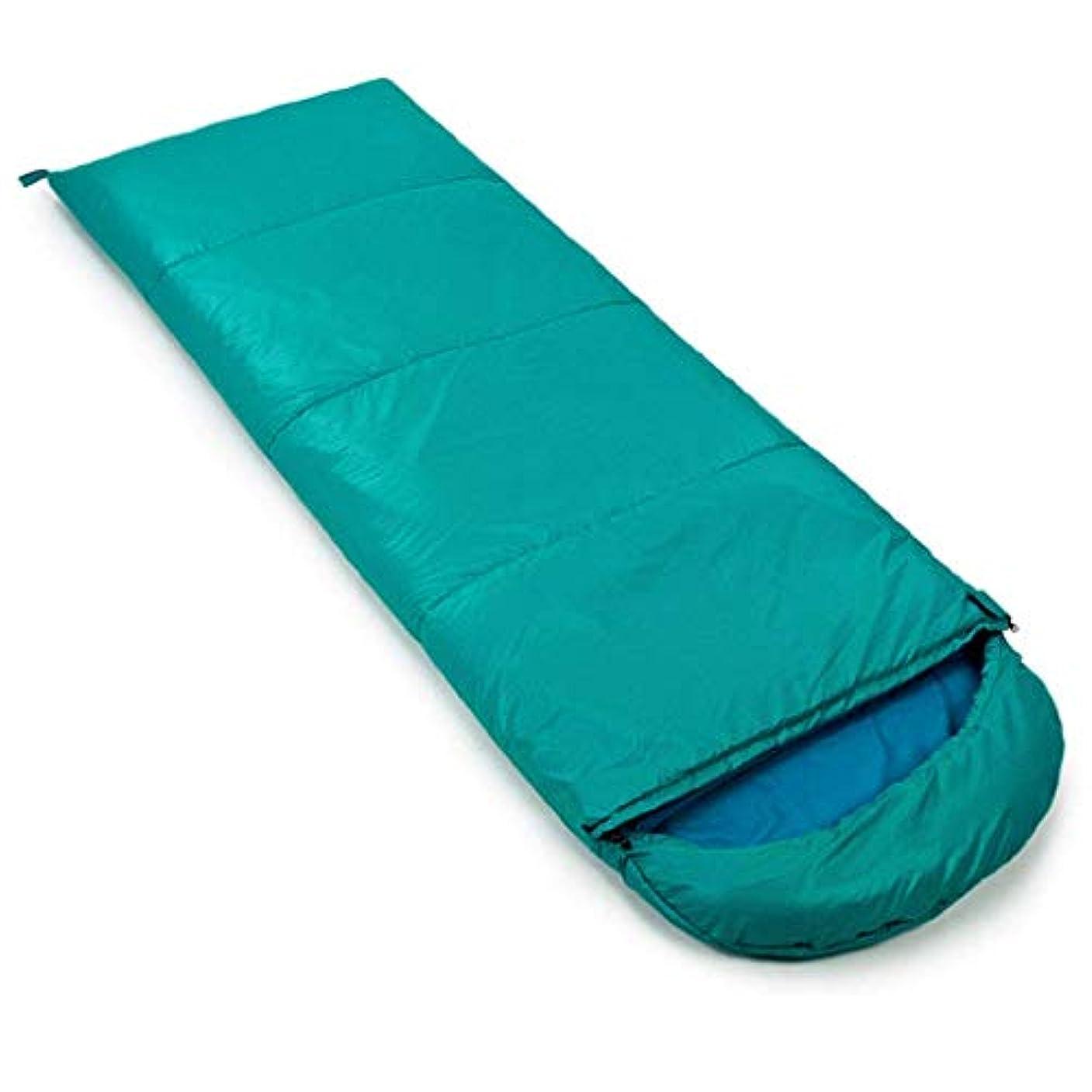 内陸相談作り屋外の寝袋封筒春と秋の旅行大人の超軽量ポータブル綿キャンプ屋内ランチ汚れ防止