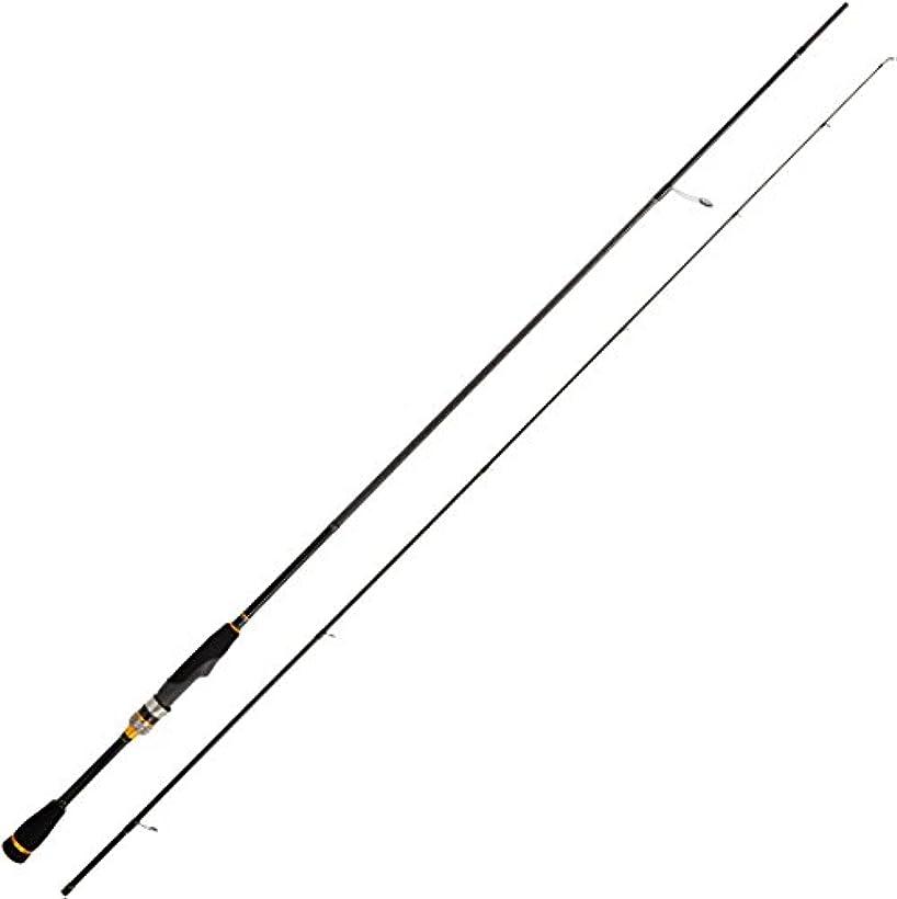 ステッチノベルティ受取人メジャークラフト メバリングロッド スピニング 3代目 クロステージ メバル CRX-T762ML 7.6フィート 釣り竿